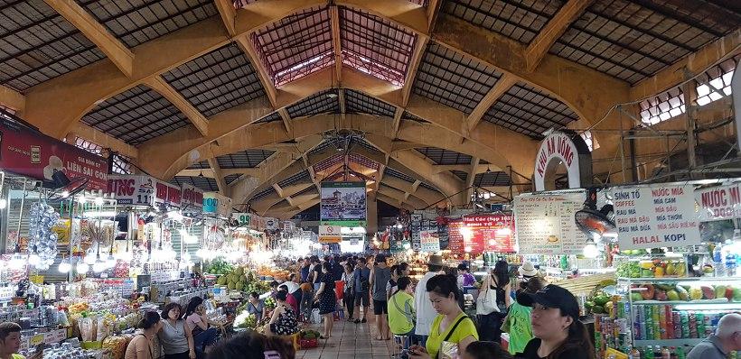 베트남 호치민 벤탄시장
