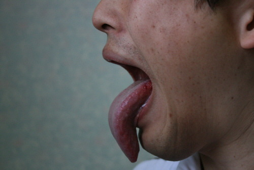 4. Korea's longest tongue
