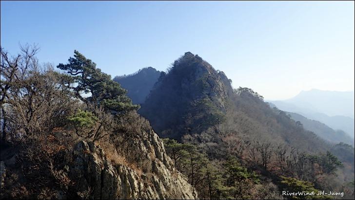 월악산 풍경