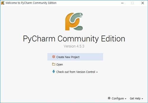 파이썬 개발, Pycharm 설치