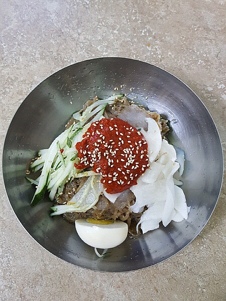 서울 동대문구 제기동 비빔냉면 맛집 - 청량리 할머니냉면