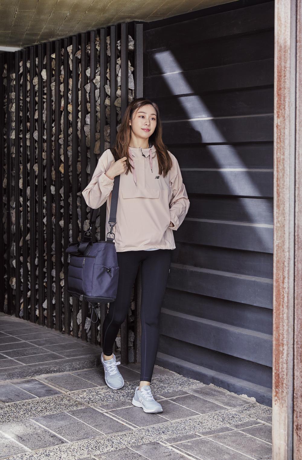 newBalance 2018ss Yuna Kim_17_WOMEN 하이웨스트 NB 레깅스