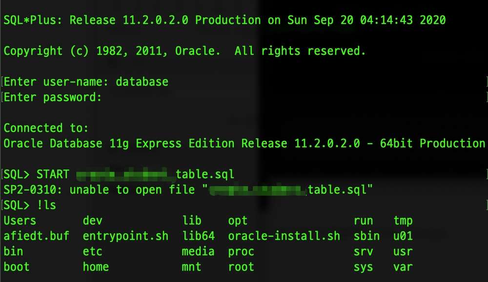 Sqlplus For Mac