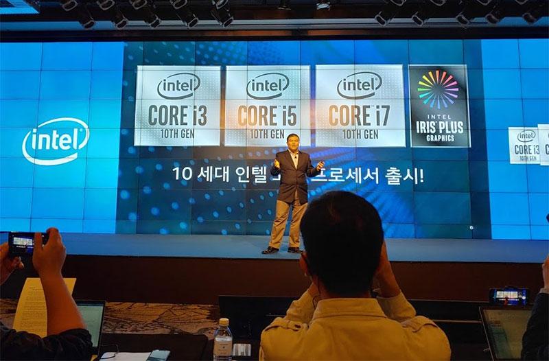 10세대 코어 프로세서 중 아이스레이크는 그래픽 성능 강화와 인공지능 특화가 주요 특징이다