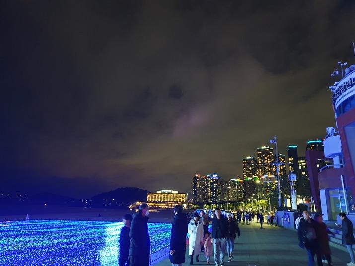 부산 해운대 빛축제 야경 2020