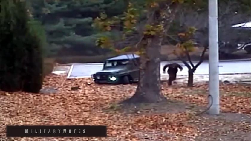 북한군 하전사 오청성씨 JSA 귀순 CCTV 공개 (풀버전)