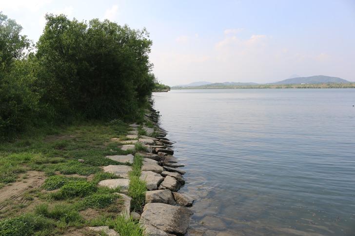 남한강 붕어낚시 포인트 - 여주 내양리, 백석리