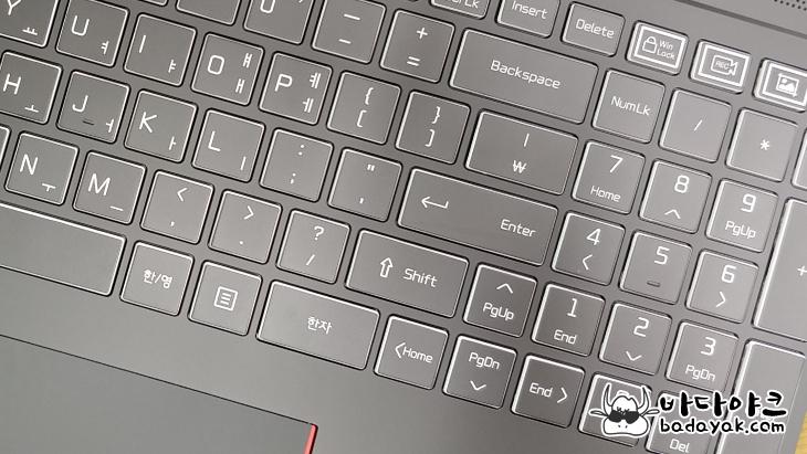 게이밍 노트북 PC LG 15G870-XA70K 스펙 장점 단점