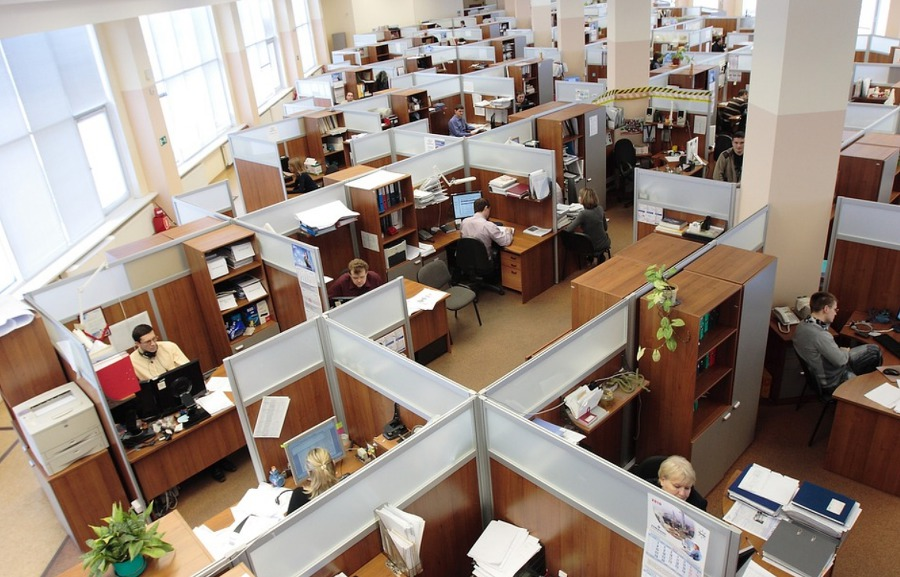 https://www.maxpixel.net/Men-Workers-Office-Complex-Working-Women-Russia-95311
