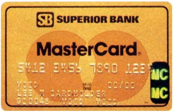 credit card holographic security history mastercard 1983