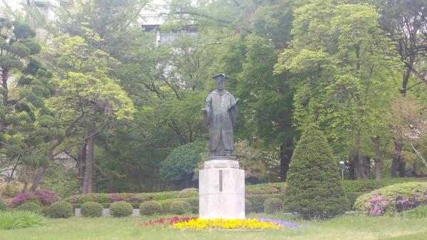 김활란박사 동상