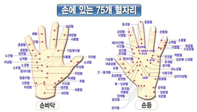 손바닥 혈자리