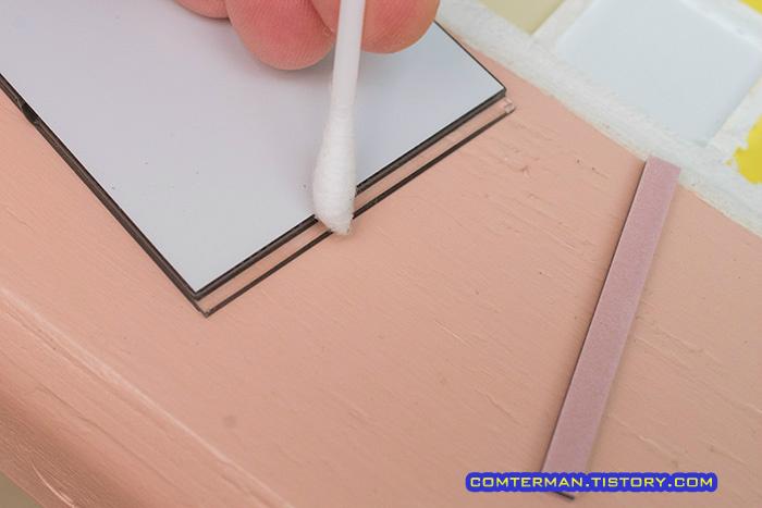 아큐라이트 온습도계 액정 접점 청소 ACURITE