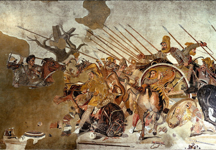Battle-of-Issus-Alexandros-the-Great-Darius-Ⅲ