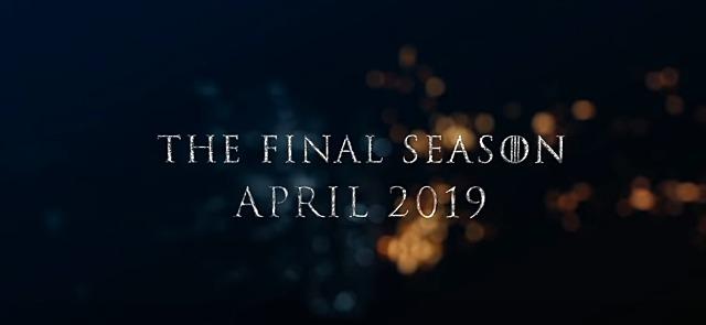 왕좌의게임 시즌8 방영일