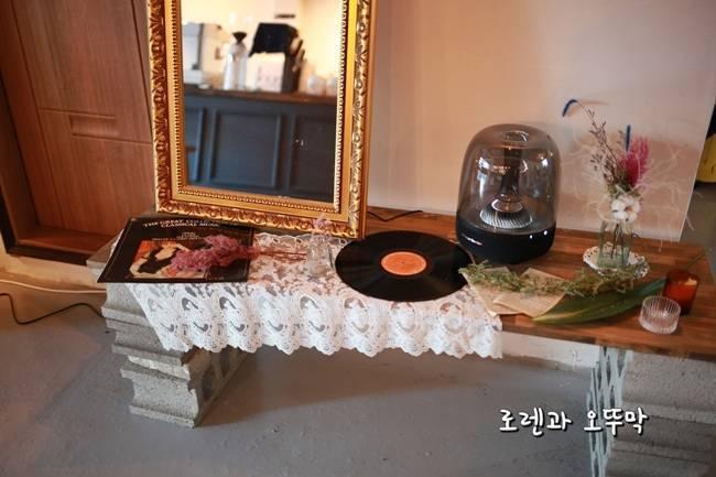 레코드판과 거울