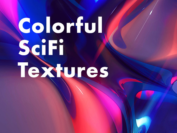 5 Colorful Sci-Fi Textures