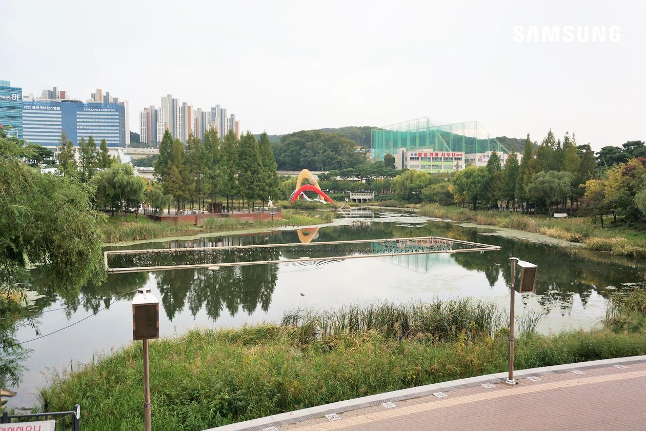 용인 가을 산책 추천 '동백 호수공원'