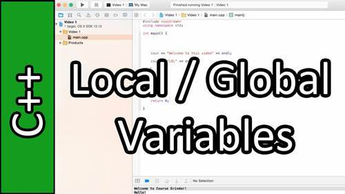 C++ 전역변수 선언 예제와 안 쓰는 방법 (global variable)