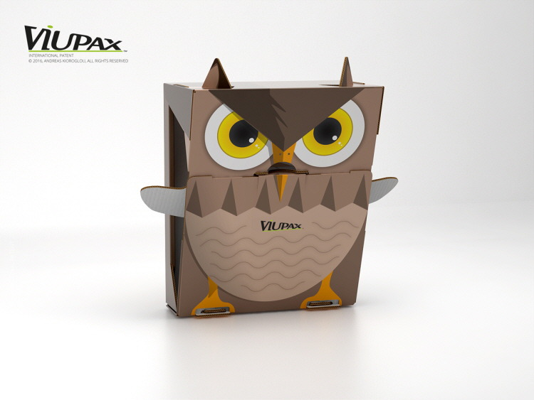 Viupax shoe box, concept design