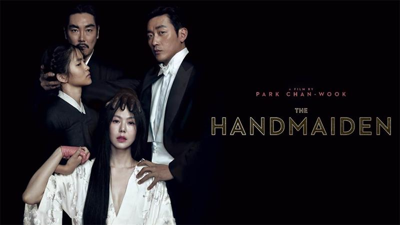 사진: 박찬욱 감독의 영화 아가씨 포스터 HANDMAIDEN