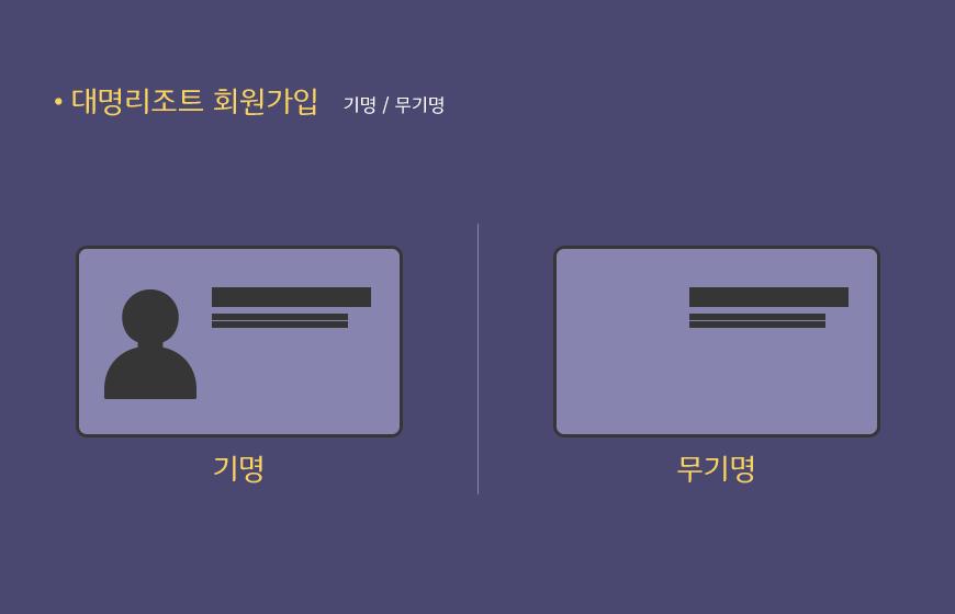 대명리조트회원/대명리조트혜택