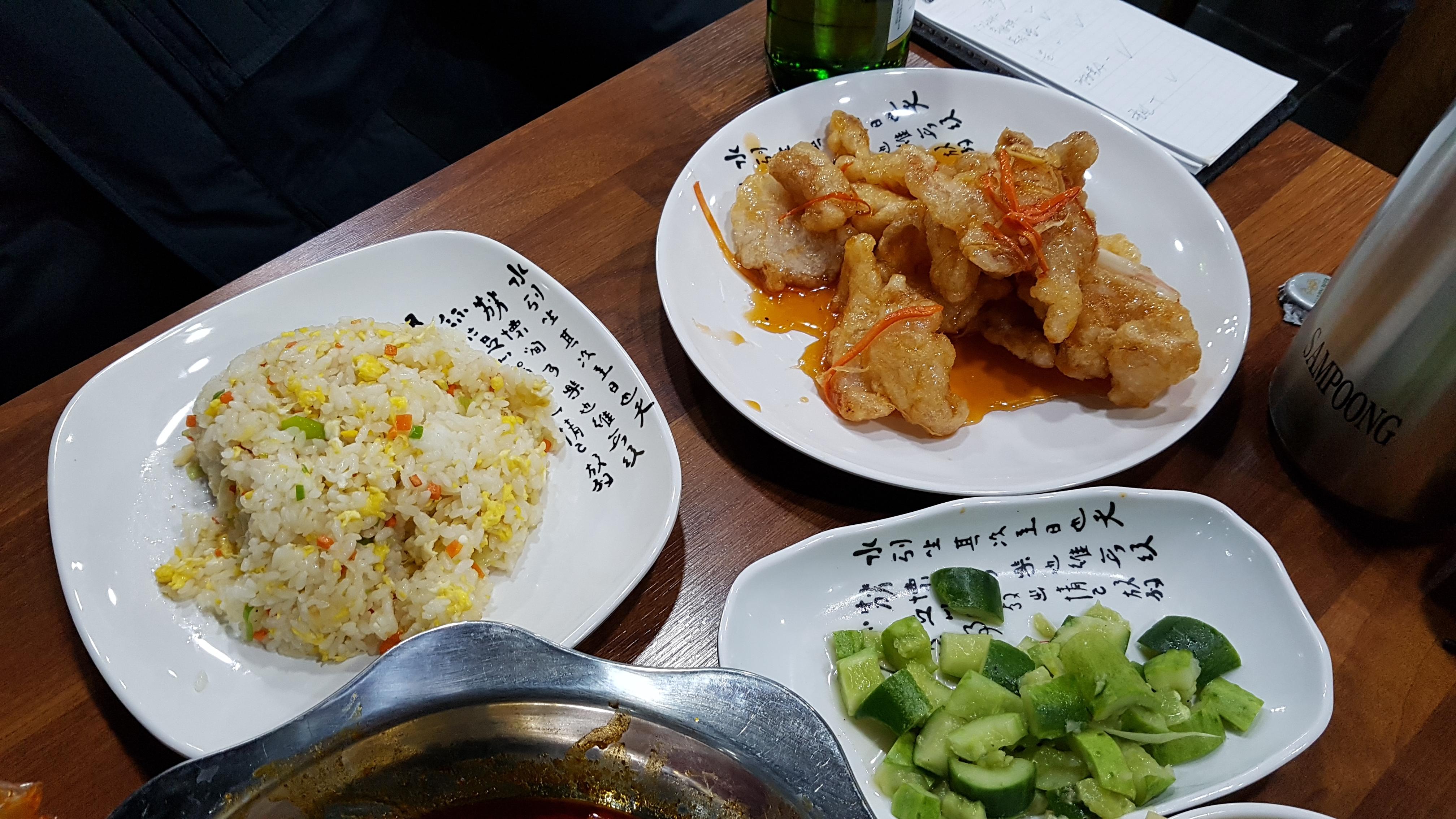 [동대문] 아직 아이먹어봤니? 매운 가재요리 - 마라룽샤, 가재, 가재 맛, 가재 소스, 가재 요리, 가재 크기, 감칠맛, 건두부피, 경장육사, 꿔바로우, 대두, 동대문 마라롱샤, 동대문 마라룽샤, 동대문 맛집, 두부피 쌈, 롱샤, 룽샤, 마라롱샤, 마라룽샤, 마라룽샤 까는 법, 마라룽샤 맛, 마라룽샤 먹는 법, 마라룽샤 소스, 매운 가재, 매운 가재 요리, 메뉴, 볶음밥, 분해, 생선구이, 샤오룽샤, 세트 메뉴, 진장로스, 진장로우쓰, 카오위, 특이한 중국 요리, 파트 회식, 하얼빈 맥주, 해룡 마라룽샤
