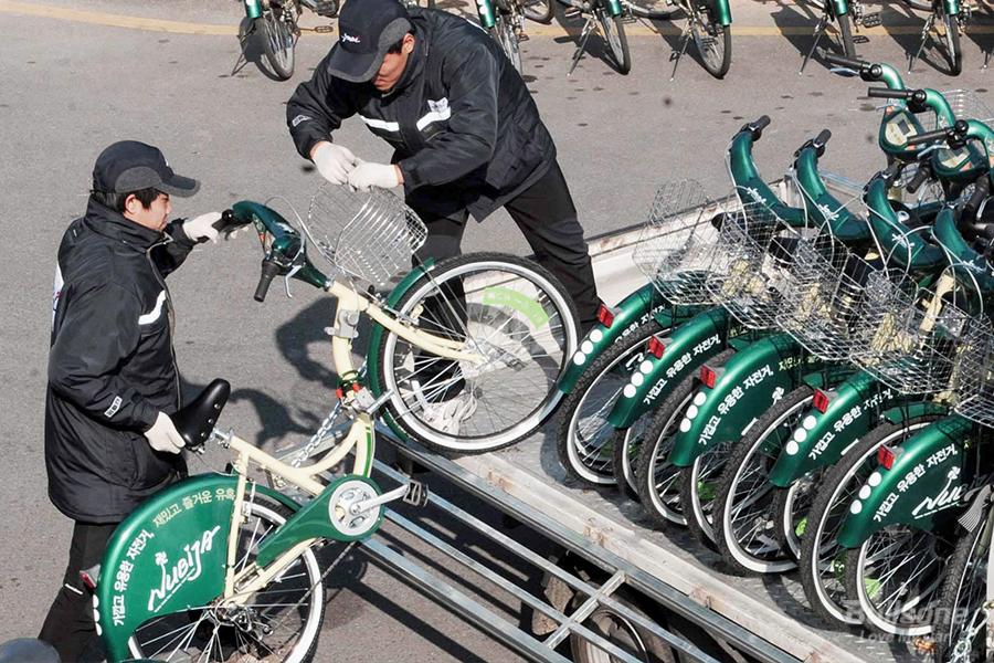 누비자 창원자전거 공공자전거 창원시