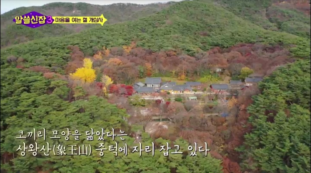 알쓸신잡3, 11화 서산&당진 : 아름다운 개심사 풍경