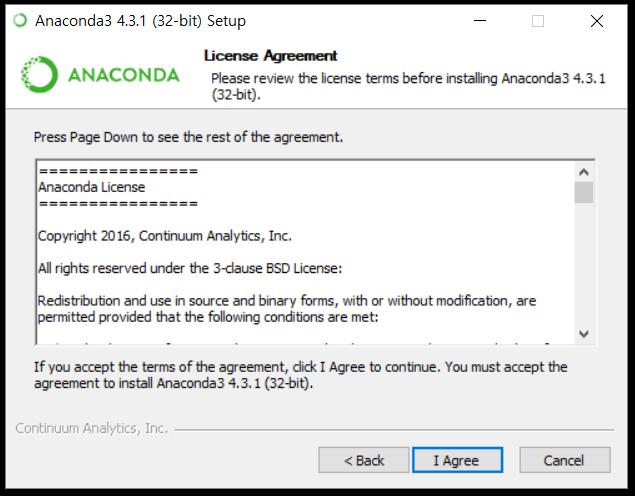 python anaconda(파이썬 아나콘다) 설치 방법