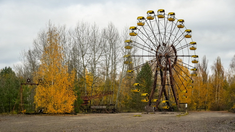 1. abandoned Pripyat amusement park