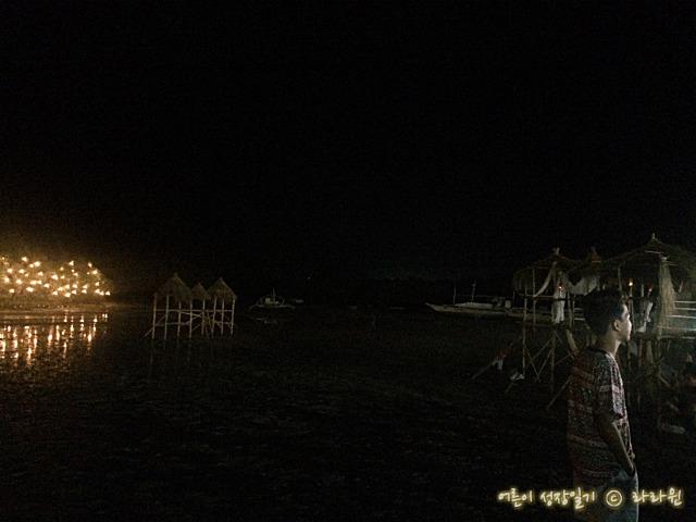 막탄 밤바다