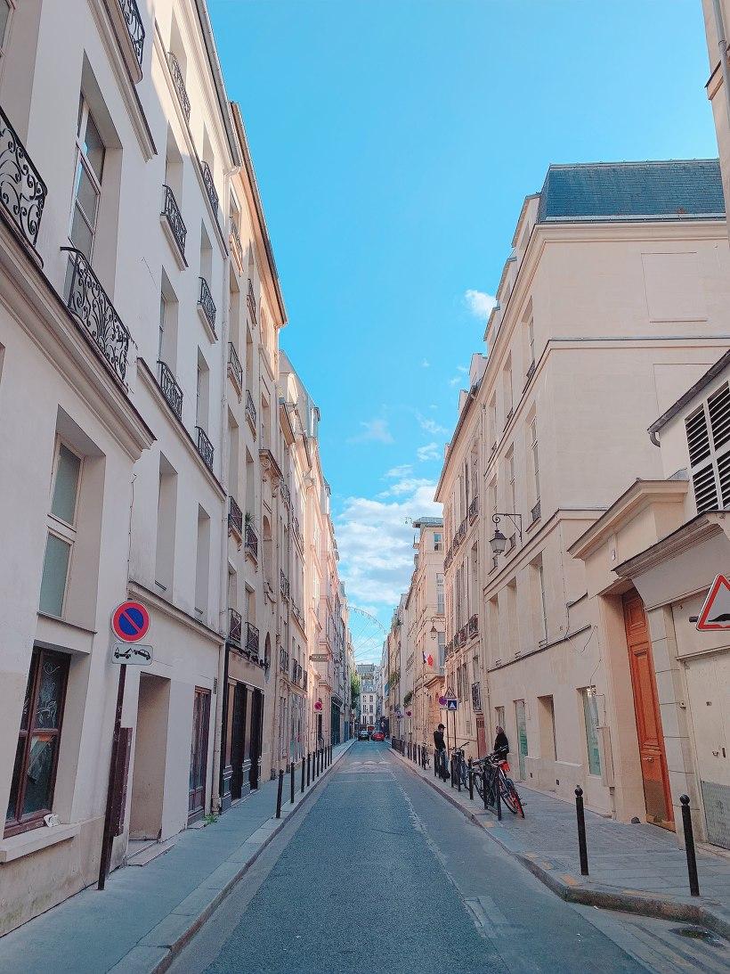 파리 시내 모습