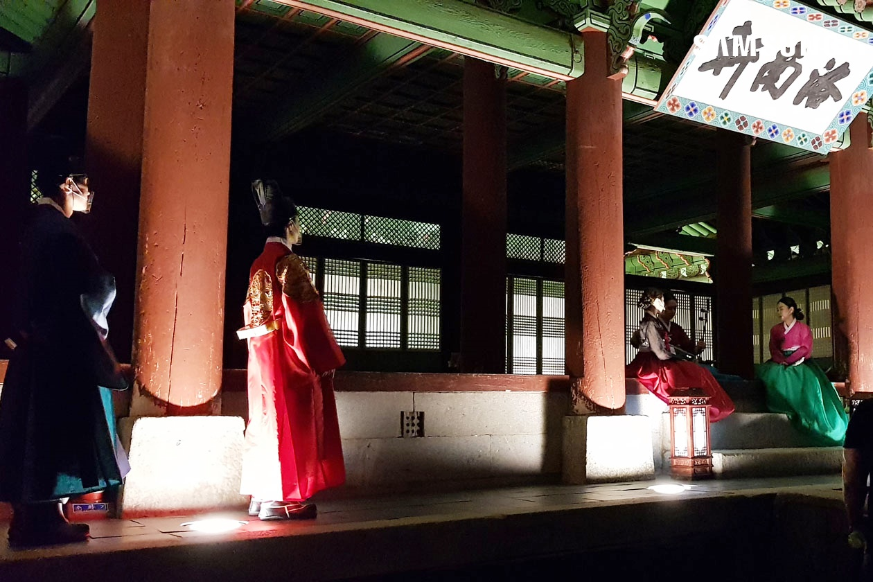 수원 화성행궁 야간개장 포토존