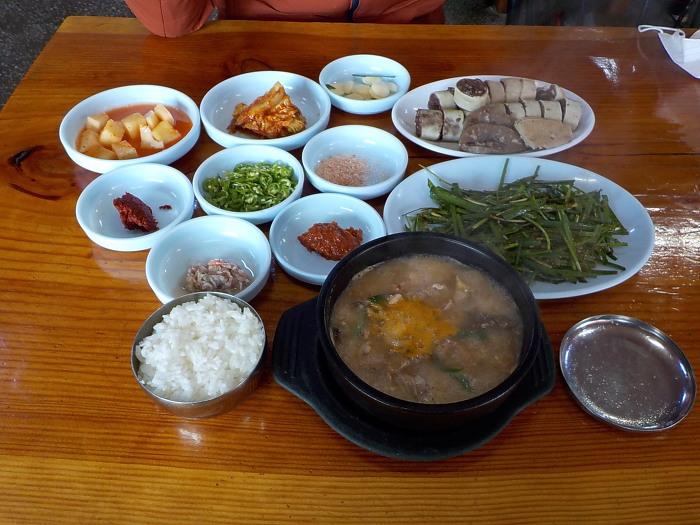 김제 순대국밥
