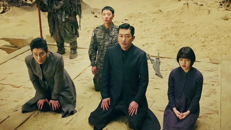 김동욱의 재판을 요청하는 주지홍, 하정우, 김향기