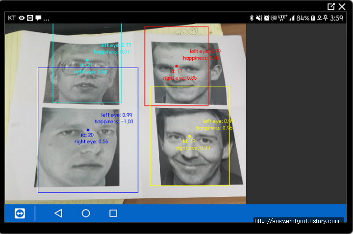 The Answer's Engineering Blog :: Face detection(얼굴인식) in