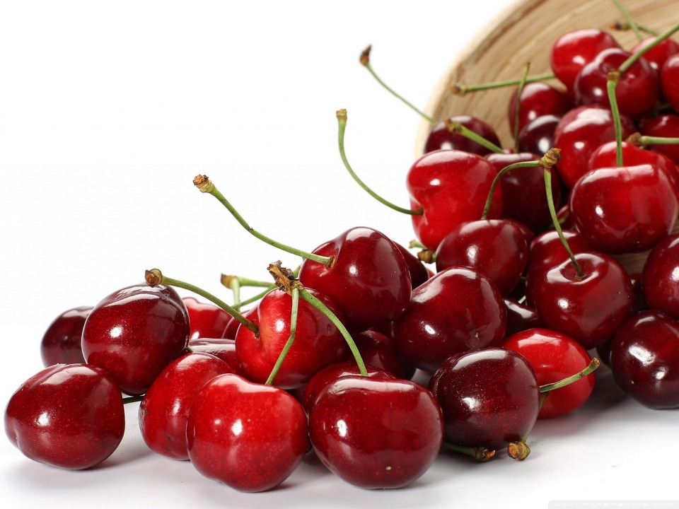Download Cherry Fruit HD Wallpaper