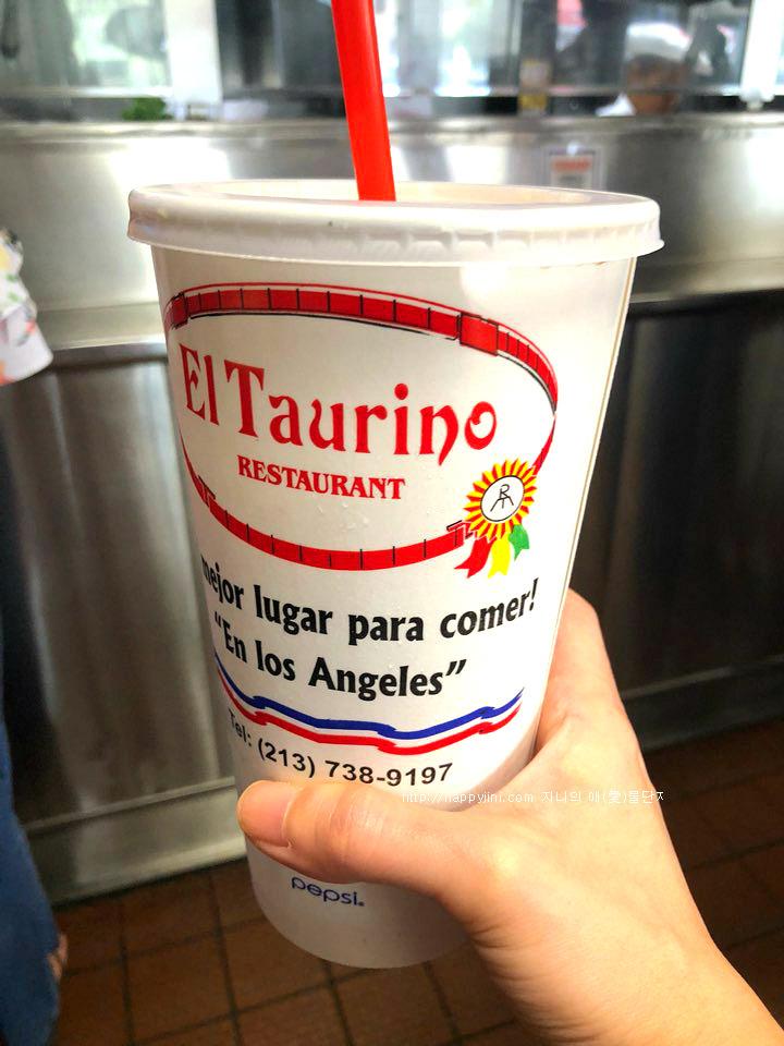 LA에 왔다면 꼭 가야할 멕시칸 식당 엘 타우리노[ El Taurino / 엘에이 맛집]오르차타