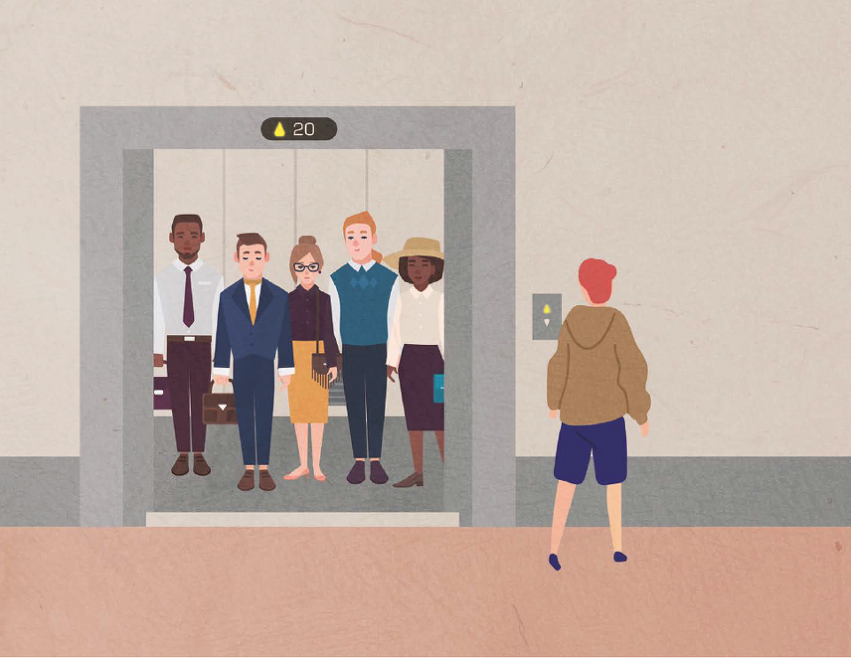 엘리베이터의 운행은 전자동 방식만 필요할까?