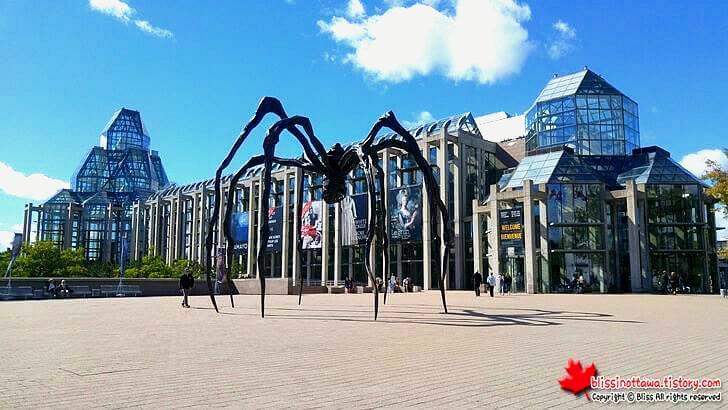 캐나다 국립미술관입니다