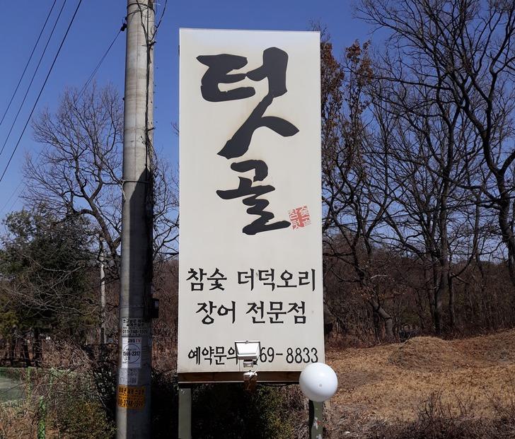 [일산맛집]텃골 - 참숯에 구운 오리로스구이와 더덕무침의 환상적인 조화