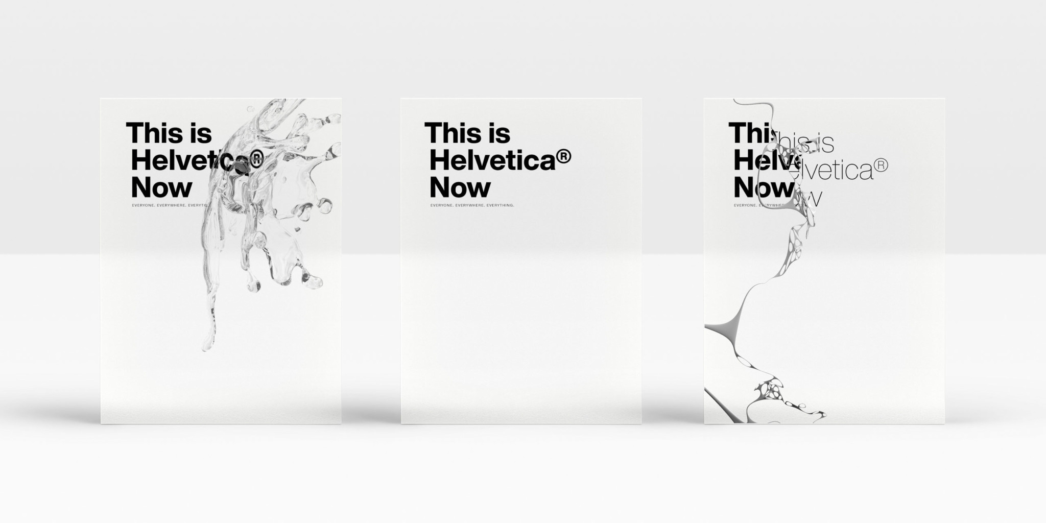 Helvetica Now 2020 글꼴