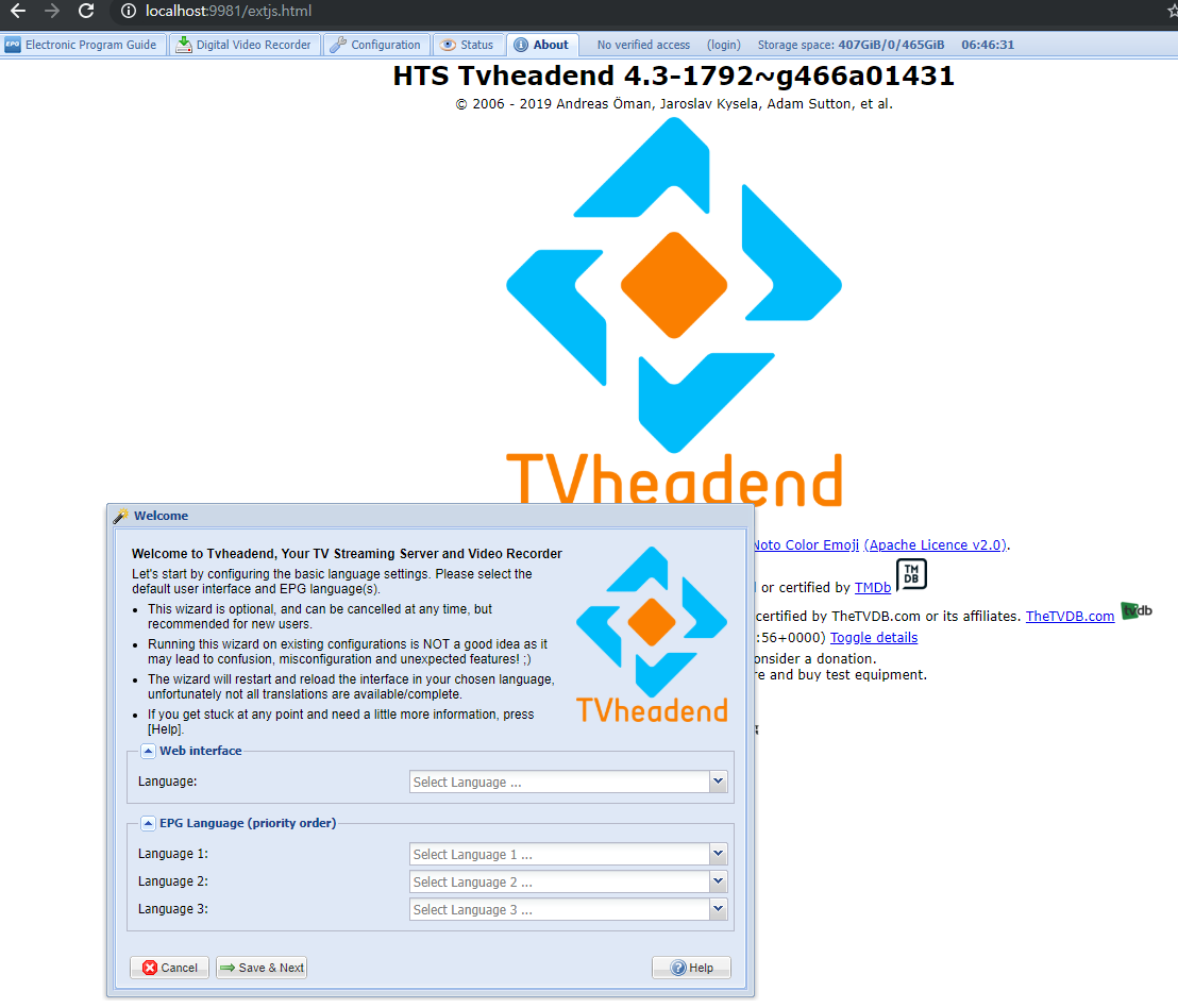 DJJ PROJECT :: TVHeadend 빌드하기 (Debian Base)