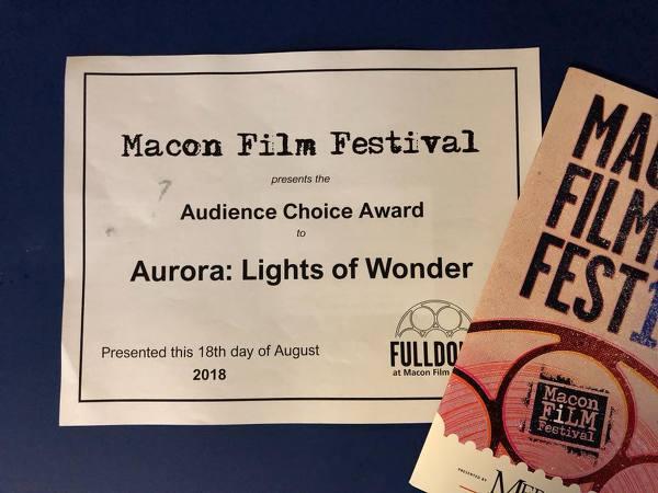 <생명의 빛 오로라> 미국 Macon Film Festival에서 수상