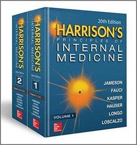 Harrison's Principles of Internal Medicine 20/E (Vol.1 & Vol.2)[성보의학서적 해리슨내과학 내과학 신간 의학서적 목록]