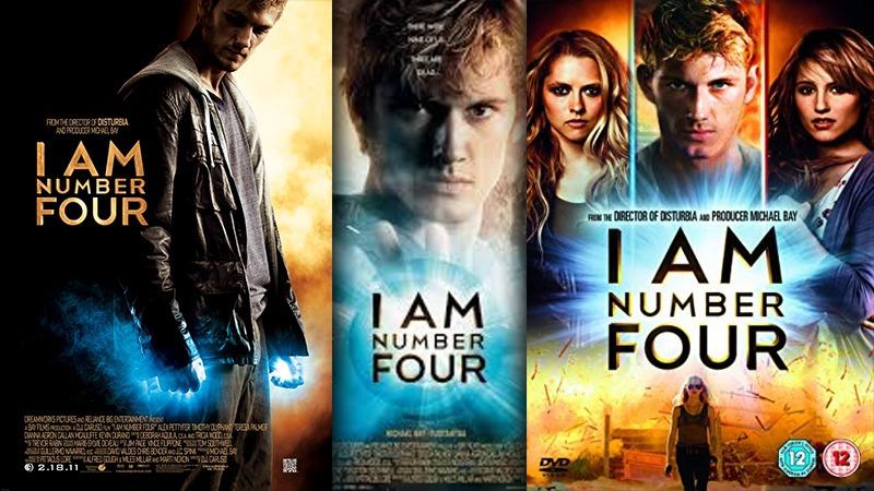 사진: 로맨스 판타지 SF 초능력 영화인 I Am Number Four의 포스터
