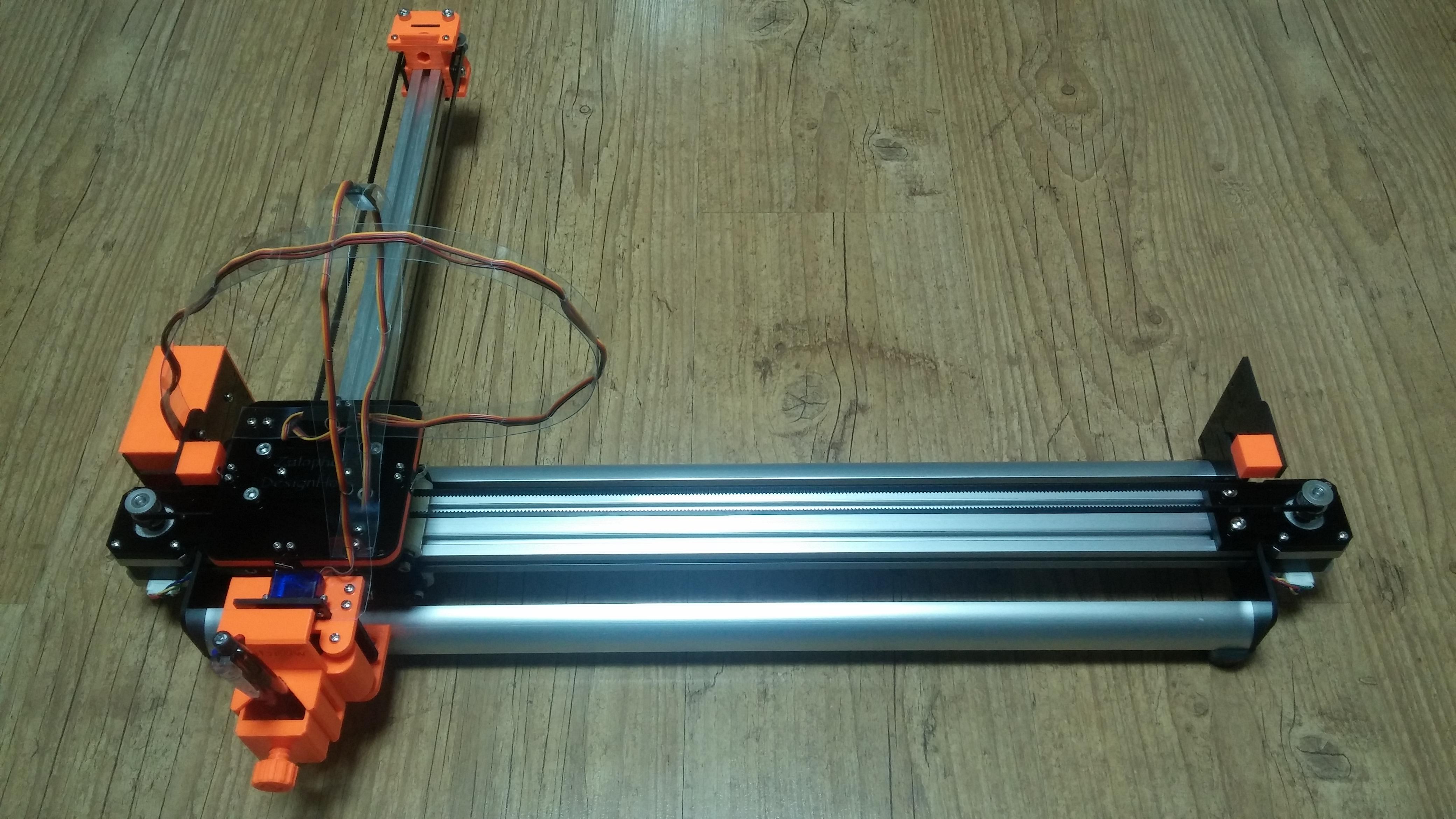 4xiDraw V1 / A3 - Drawing Machine: Drawing