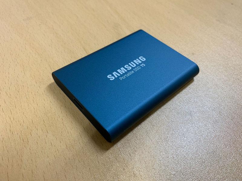 외장 SSD 맥에서 암호화 하여 사용하기 (삼성 SSD T5)