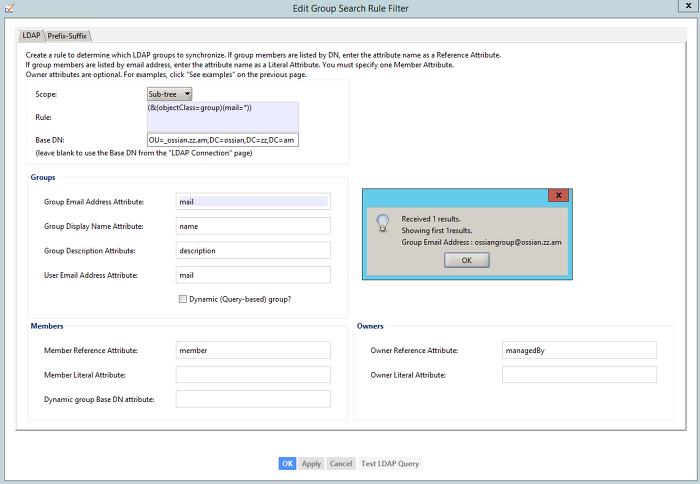 Ossian Story :: [G Suite] GCDS Server